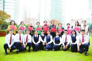 濠江合唱團參與滬雙慶節目