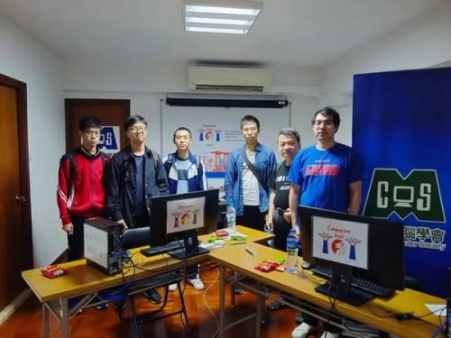 我校學子在國際電腦奧林匹克(IOI)競賽中喜獲銅牌