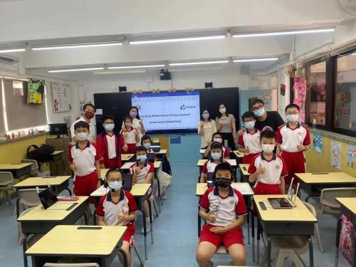 濠小三至六年級共十二學生參加'VANDA Science Global Final'比賽
