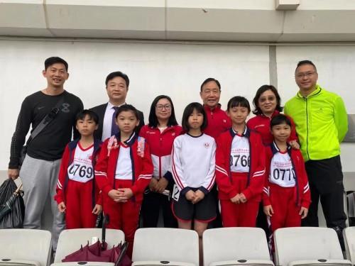 第四十四屆學界田徑比賽濠小學子獲佳績