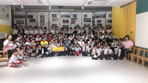 藝穗會到濠小為三年級學生進行故事工作坊活動