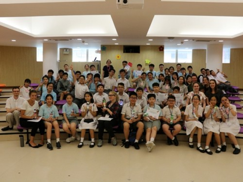 P6 & S3 Ecobrick Camp – June 2019