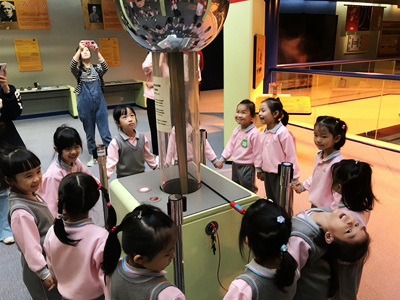 K3 visited the Communications Museum