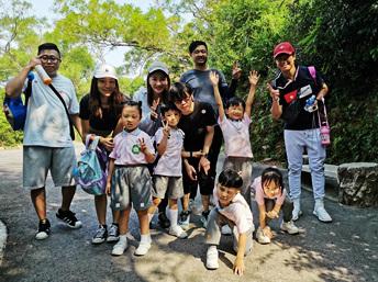 K3 Parent-Child Autumn Tour at Macau Grand Taipa Hiking Trail