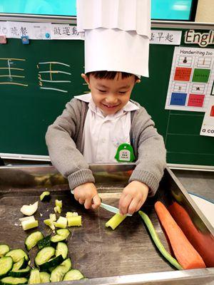 K3煮蔬菜湯活動