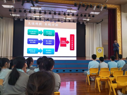 高二級學生生涯規劃講座