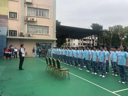 """初一級學生參加""""小飛鷹""""教育營"""