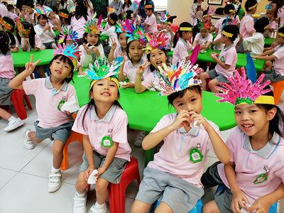幼稚園第一季生日會