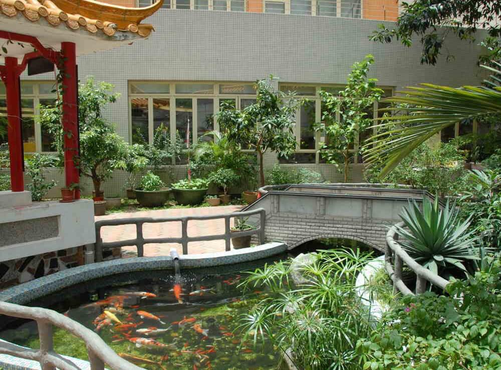 生物園魚池